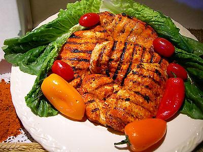 (6 LBS.RED MIX CHICKEN RUB, RESTAURANT USE,GRILL BBQ. RIBS MEAT DRY RUB SEASONING)