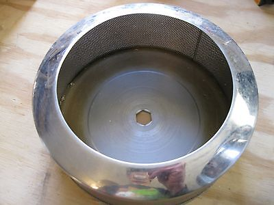Acme Juicerator Stainless Strainer Basket Used Replacement Part, Model 5001/6001