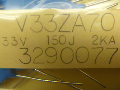 V 33za70 Thermistor 33 Volt 150 J V 330kd20