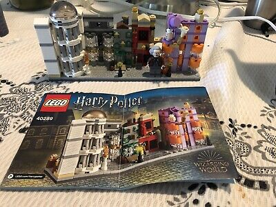 LEGO Harry Potter Diagon Alley 40289 with instructions 100% Complete