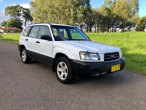 2004 Subaru Forester X (AWD) 4 Speed Automatic Wagon 4months Rego
