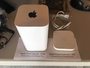 Apple Time Capsule 2TB Wireless Router and NAS