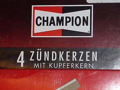 1 Satz = 4 Stück original CHAMPION RS9YC = OE011 Zündkerzen set of spark plugs online kaufen