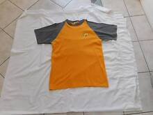Bundaberg Rum Tshirt T shirt mens Size L Large yellow grey Bundy Carindale Brisbane South East Preview