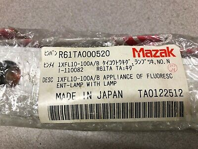 New No Box Mazak Appliance Fluorescent Lamp With Lamp 1xfl10-100ab