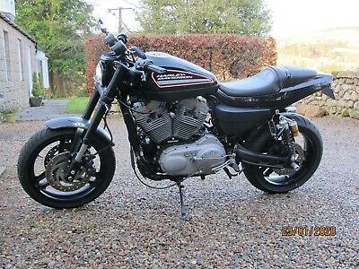 2010 Harley Davidson XR1200 XR1200X in mint condition. £1000's extras, flat trac
