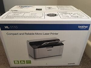 Brother HL-1110 Mono Laser Printer Wahroonga Ku-ring-gai Area Preview