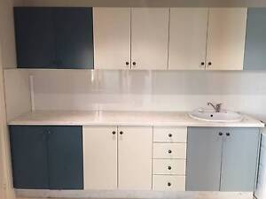 Five Bathroom and laundry vanities/cupboards and Lanark Spa Cottesloe Cottesloe Area Preview