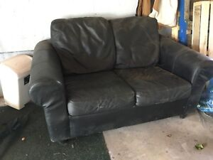 Leather couch(loveseat) for sale