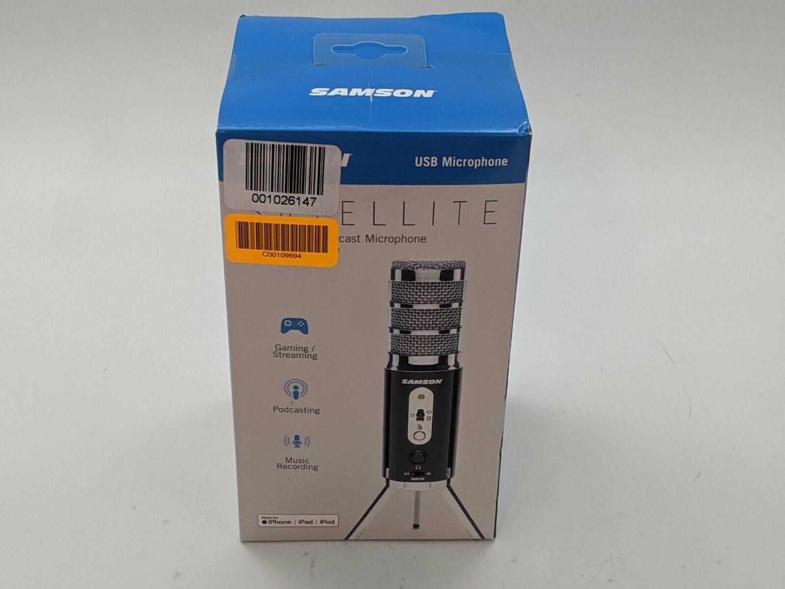 Samson Satellite Recording USB/iOS Microphone Computer iPad