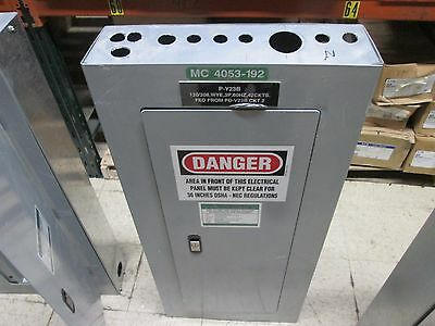 Siemens Main Breaker Panel P1x42mc250c 250a Max 208y120v 3p 4w 42 Circuit Used