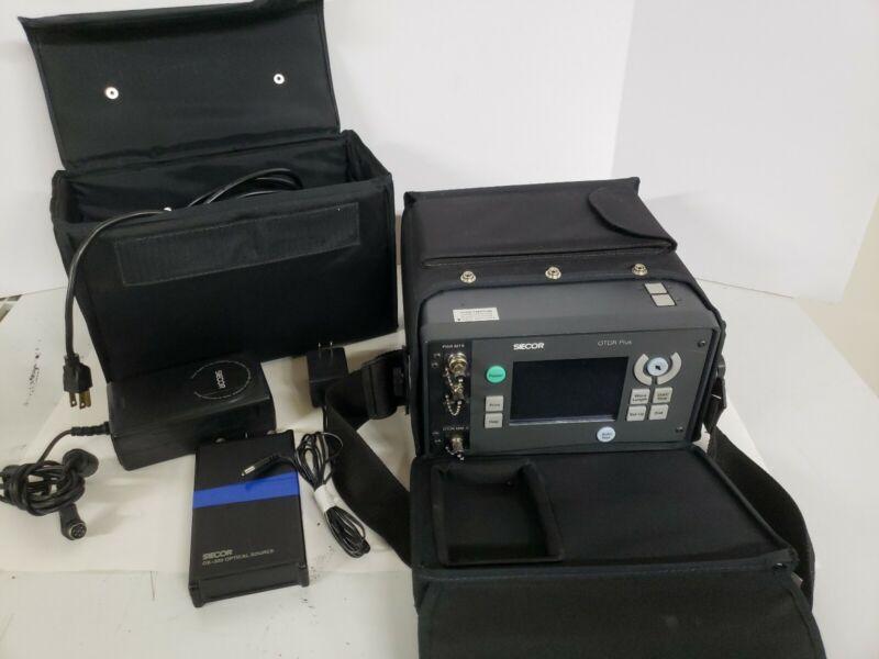 Siecor OTDR Plus Multitester w/ Seicor OS-301-55 Optical Source