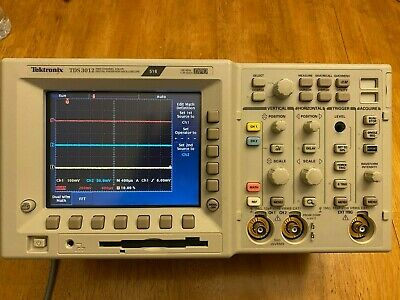 Tektronix Tds3012 With Fft And Advanced Trigger 100mhz 2ch Color