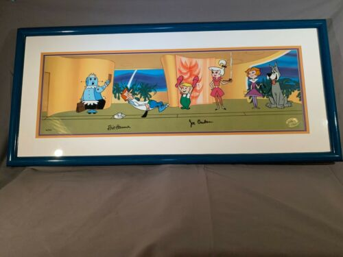 """The Jetsons framed limited edition Cel """" A New Leash on Life"""""""
