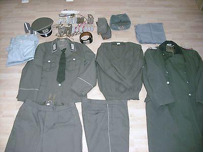 NVA Offizier Uniform ca 1960 aus Nachlas eines Oberleutnant Landstreitkräfte