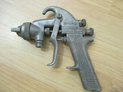 Vintage Original Binks Model 19 Spray Gun 67p New No Box