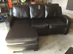 Ashley Furniture Bonded Leather Couch