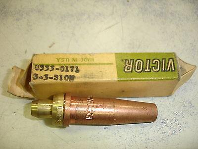 Vintage Victor Cutting Torch Tip 26 Victor 3-3-210n 0333-0171 Genuine
