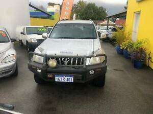 2008 TOYOTA LANDCRUISER PRADO GRANDE 4X4 WAGON Bentley Canning Area Preview