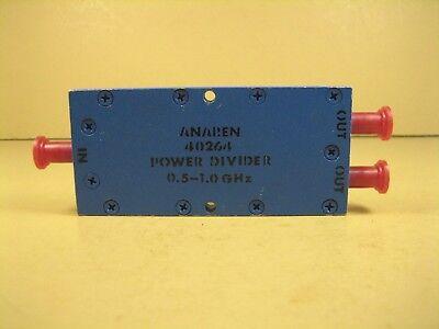 Anaren 40264 Power Divider 0.5 - 1.0ghz