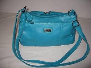 handbag - aqua in colour McDowall Brisbane North West Preview