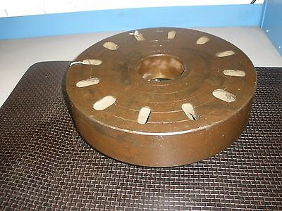 Face Plate 14 Dia. X 3 916 Id Engine Lathe D1-8 Spindle Mount