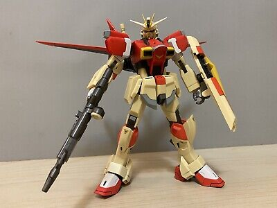"Used Loose Bandai 9"" Chogokin Impulse Gundam + Bonus Gundam Action Figure"