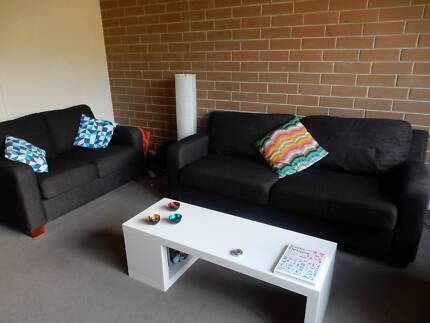 Living room set - sofas and coffee table (also sold separately) Carlton Melbourne City Preview
