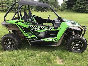 Arctic Cat Wild Cat trail 700XT side by side