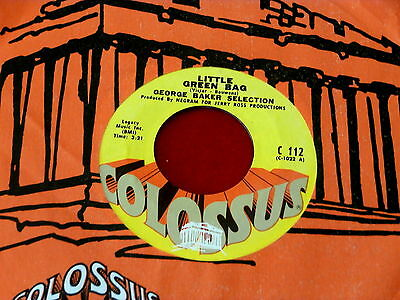 GEORGE BAKER~ LITTLE GREEN BAG~ MINT~ UNPLAYED STORE STOCK~ PRETTY ~ SOUL 45