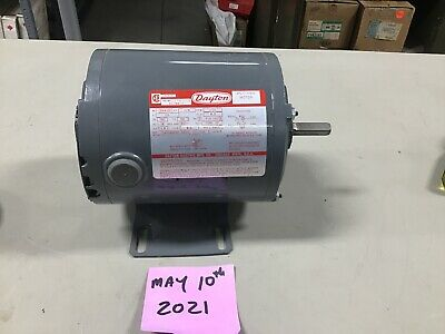 Dayton 5k412c 13hp 115v 1725rpm 56z 1ph Electric Split Phase Reversible Motor