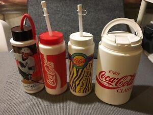 Coca-Cola Plastic Bottles / Jug