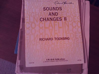 Richard Toensing: Sounds and Changes II, Organ (Gray)