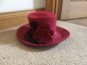 Burgandy wool hat Marden Norwood Area Preview