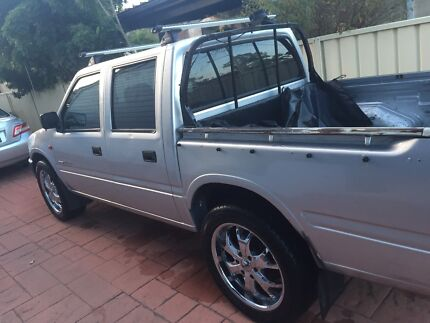 Holden rodeo v6 silver 4 door swap for boat or trailer Berkeley Vale Wyong Area Preview