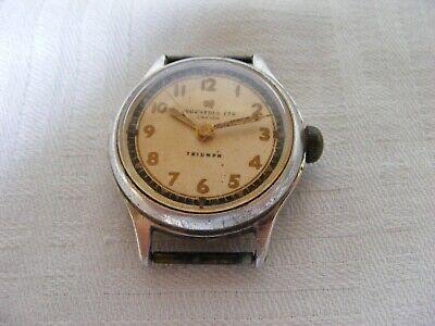 vintage INGERSOLL LTD LONDON TRIUMPH men's hand wind watch-spares/restore etc