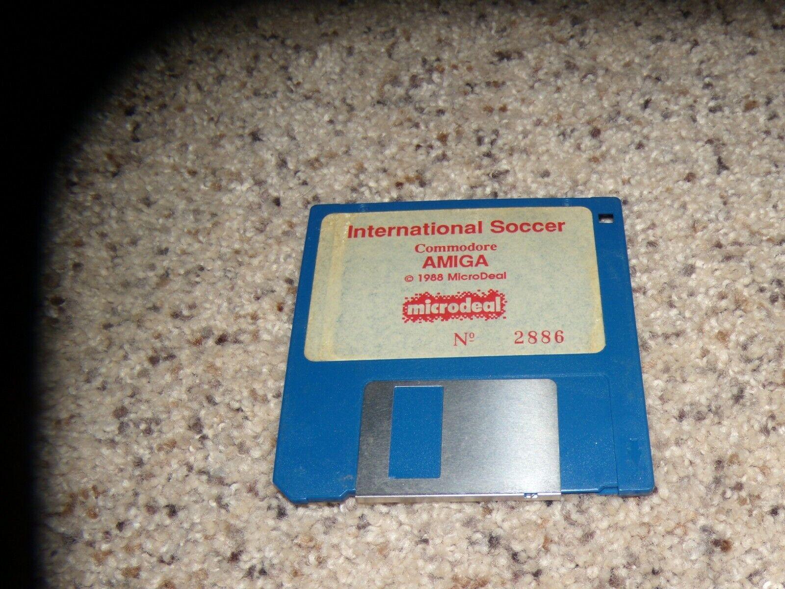 International Soccer Commodore Amiga 3.5 Disk - $8.99