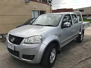2011 Great Wall V240 Ute DUEL FUEL ( GAS/ PETROL )
