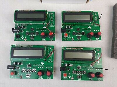 Lot Of 4dds Function Signal Generator Sine Square Triangle Sawtooth Wavejm-0150