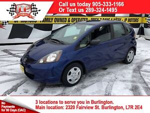 2014 Honda Fit DX, Manual, Power Group, 5 Speed Manual
