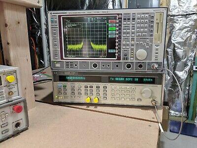 Rohde Schwarz Fsea 20 9khz To 3.5ghz Spectrum Analyzer Fse
