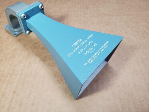 Narda Model 640 Standard Gain Horn 8.20-12.4 GHz ~ Sold w/ 60 Day Warranty