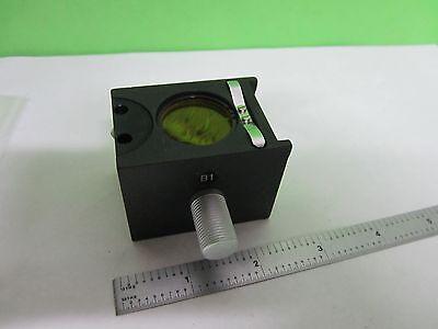 Microscope Part Reichert Polyvar B1 Filter Cube Optics As Pictured Bin25-14-07