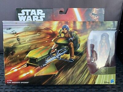 Star Wars - Rebels - Ezra Bridger's Speeder and Figure