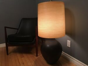 "Mid century modern Lotte and Bostlund lamp - XL 37"" tall"