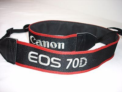 CANON EOS 70D CAMERA NECK STRAP , Used  #01290