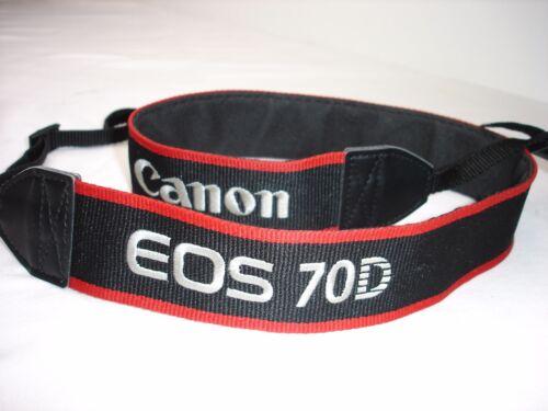 CANON EOS 70D CAMERA NECK STRAP , Used