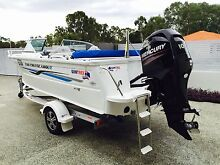 2013 quintrex 530 cruise about bow rider 100hp Mercury 4stroke Kenwick Gosnells Area Preview