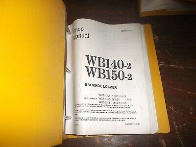 Komatsu Wb140-2 Wb150-2 Backhoe Loader Shop Service Repair Manual