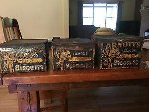 Arnotts Biscuit Tins Kincumber Gosford Area Preview